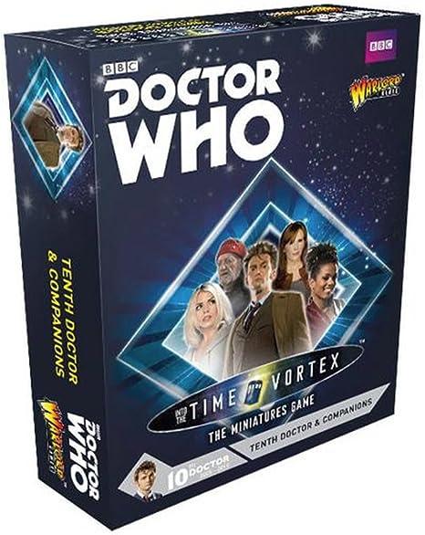 Doctor Who - Into The Time Vórtice juego Miniaturas - Tenth Doctor y compañeros (5) (Warlord Juegos): Amazon.es: Juguetes y juegos