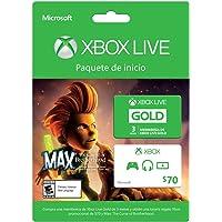 Membresia 3 Meses Xbox Live + Juego Max - Xbox One - Standard Edition