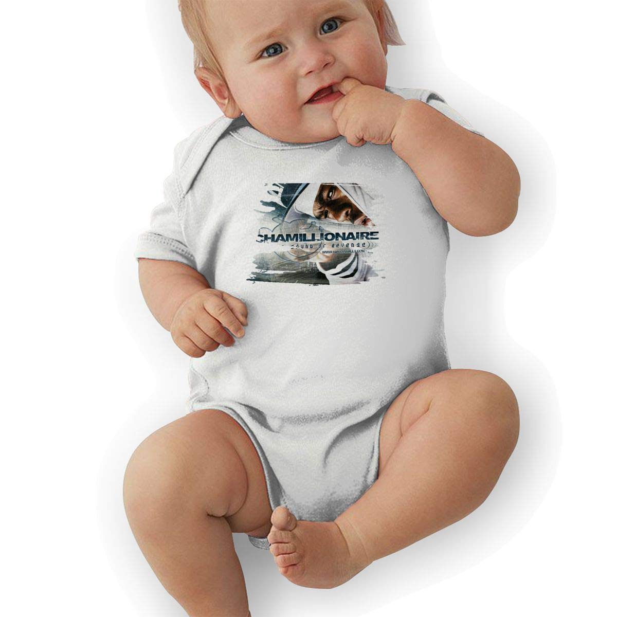 Chamillionaire The Sound of Revenge Music Band Short Sleeve Baby Bodysuit Tennis Baby Suit Gift