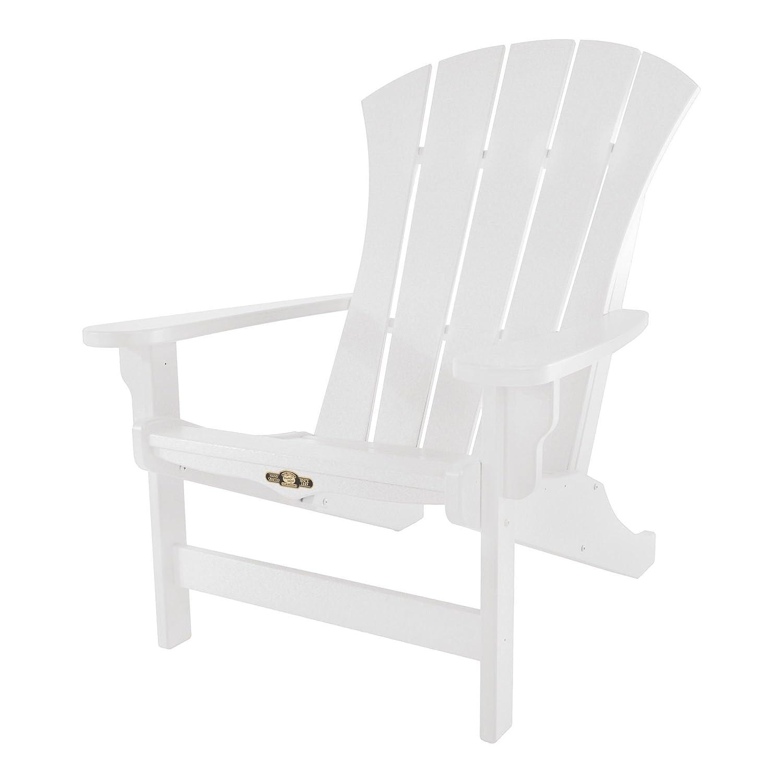 Wondrous Original Pawleys Island Srac1Wh Durawood Sunrise Adirondack Chair White Andrewgaddart Wooden Chair Designs For Living Room Andrewgaddartcom
