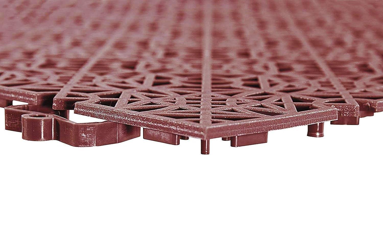 Andiamo 202402 mattonelle di plastica piastrelle pavimento 38 x 38