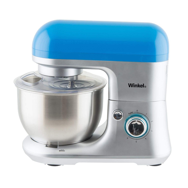 Winkel RX60 Robot de cocina multifunción, batidora amasadora, 650 W, Azul: Amazon.es: Hogar