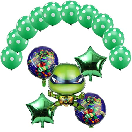 15 piezas Teenage Mutant Ninja Turtles globos globos de ...