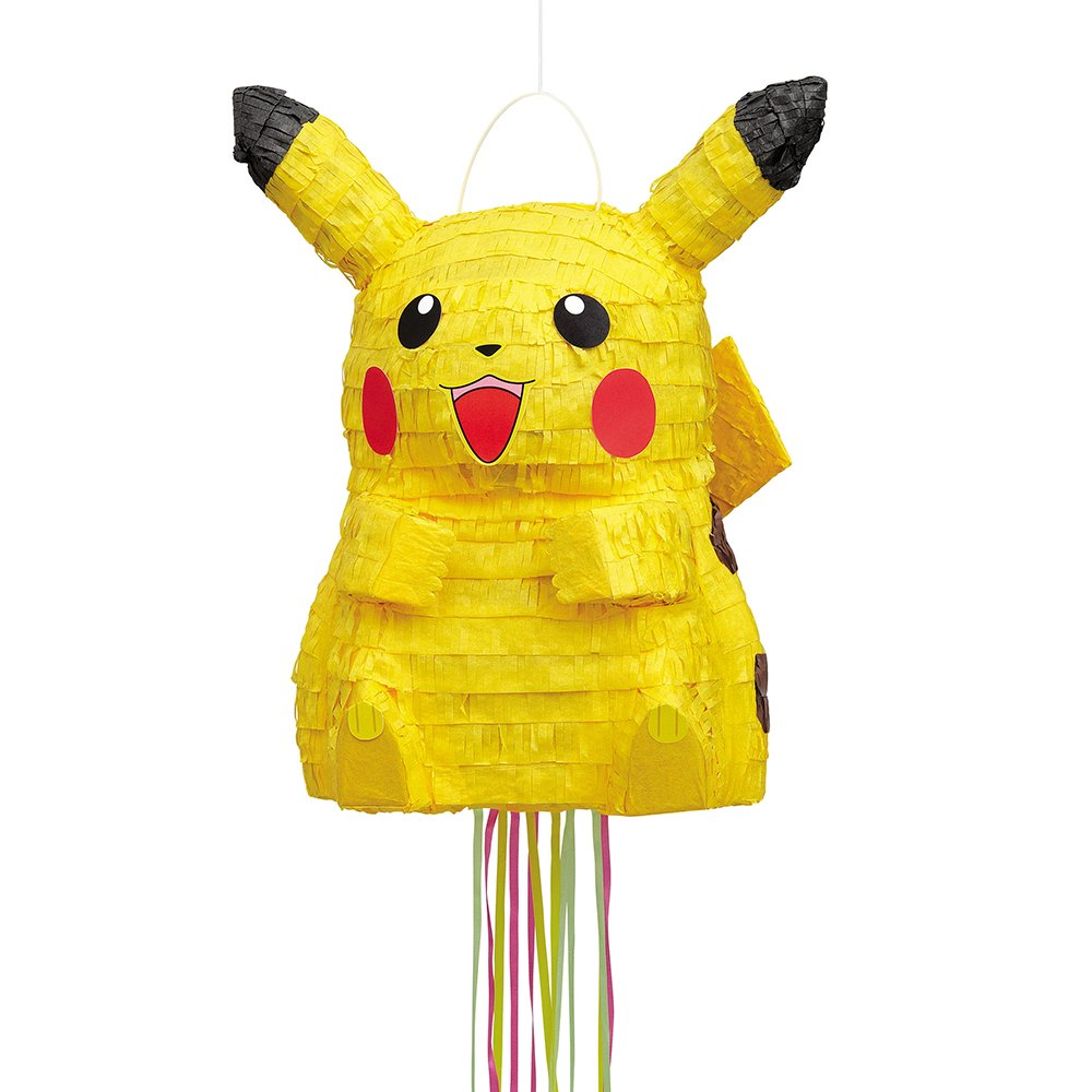 Pikachu Pokemon Pinata, Pull String by Unique