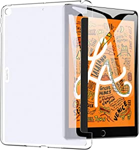 "ESR Clear Rear Case Fits with Lightweight Cover for iPad Mini 5 (7.9"") 2019, Yippee Series Anti-Slip Clear Back Cover, Slim Fit Hard Back Shell for iPad Mini 5th Gen 2019 7.9inch (Clear)"