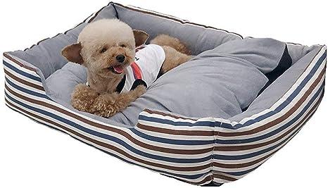 DOG-WELL Cama para Perros, Cesta para Perro, Sofá para Perros Felpa Suave y cómoda con Impermeable Antideslizante Base y Desmontable Lavable Casa para Mascotas (Tamaño Opcional): Amazon.es: Deportes y aire libre