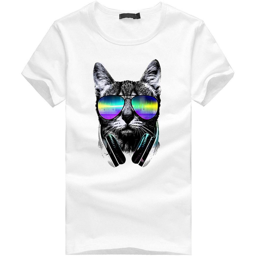 Hombre Camisetas Hombre Mujeres Impresión Tees Camisa de Manga Corta Camiseta Blusa Tops Polos Camisas Talla Grande Camisetas de Pareja Casual ...
