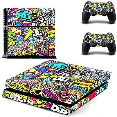 Controlador de Color de Adhesivos Mando Inalámbrico para Playstation 4 PS4: Amazon.es: Hogar