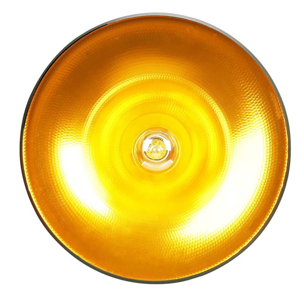 Color:Blanco CCLIFE L/ámpara Colgante Comedor Iluminaci/ón Interior Ara/ña de Techo de Metal y Madera Altura Ajustable