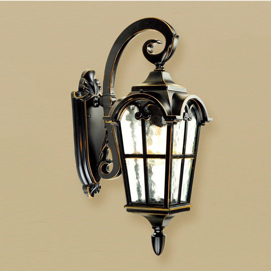 MEILING Antike Rom Im Freien Im Europäischen Stil Wandleuchte Garten Villa Tür Außenpatio Balkon Außenwand Retro Lampen (Größe   254  453mm)