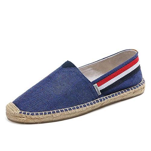 Mens Zapatos Casuales SóLidos Suaves Transpirables Mocasines De Moda Masculina En Alpargatas: Amazon.es: Zapatos y complementos
