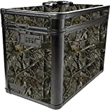 Vaultz Locking Ammo Box with Tether, 10 x 7.88 x 14.25 Inches, Camo (VZ03495)
