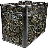 Vaultz Locking Ammo Box with Tether, 10 x 7.88 x 14.25 Inches, Camo (VZ03495)