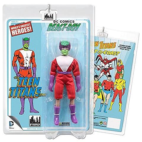 Teen Titans Retro 7 Inch Action Figures Series Two: Beast Boy (Green) (Dc Figures Beast Boy)