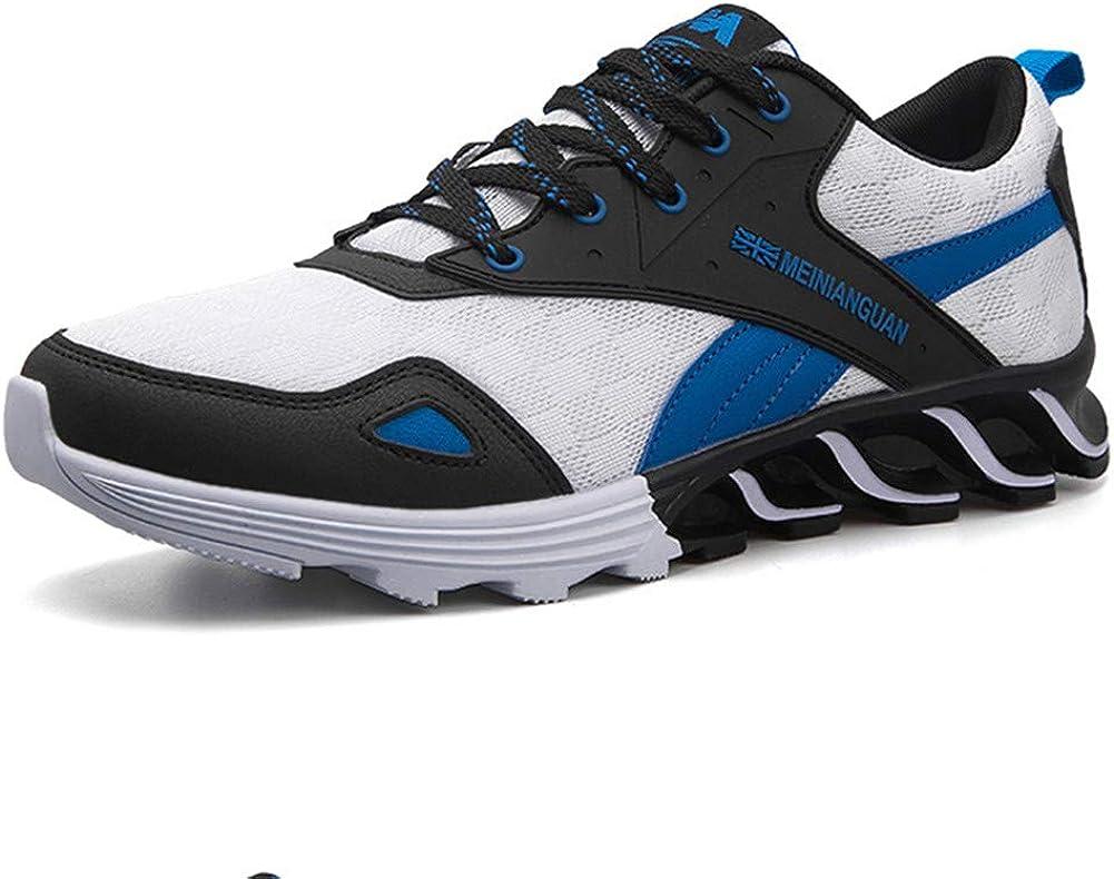Zapatos para Caminar para Hombres Zapatillas de Deporte Antideslizantes a Prueba de Golpes Zapatillas Deportivas atléticas: Amazon.es: Zapatos y complementos