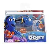 Goliath 33000 Robo-Fisch Dorie | Filmstar Dorie aus Disney Pixar Kinofilm Findet Dorie | Lebensechte Bewegungen | Wasserspaß für Kinder | elektronisches Wasser-Spielzeug