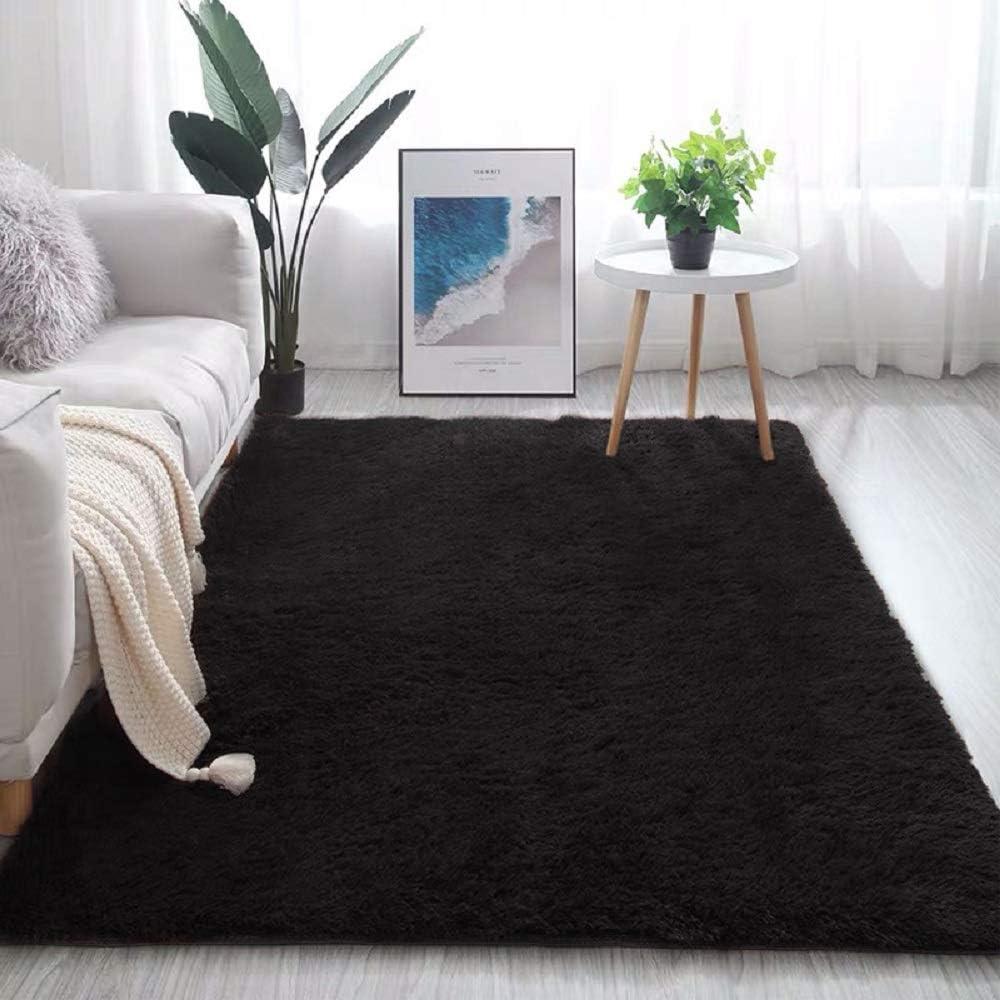 Faux Fur Area Rug Taxidermy Rug Super White Soft Luxury Home Decor ...