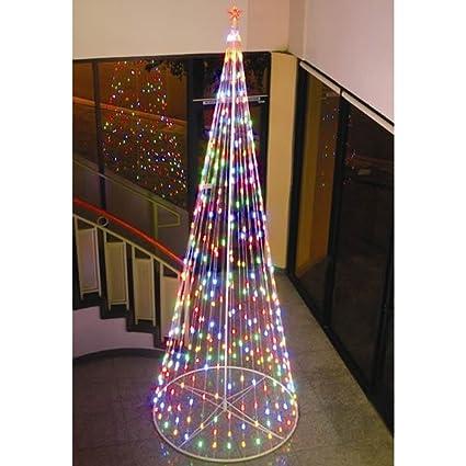 Amazoncom Homebrite 144 Prelit Christmas Tree 61377 Multi Color