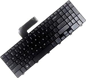 haixclvyE US Version PC Laptop Keyboard Mini Keyboard for Dell Inspiron 15R N5110 M5110 M501Z 4DFCJ