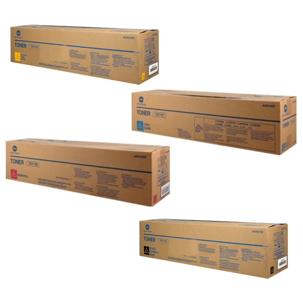 Konica Minolta TN711 Standard Yield Toner Cartridge Set
