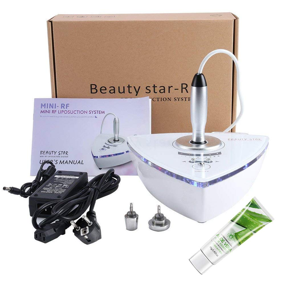 Beauty Star RF Radio Frequency Facial Machine, Home Use Portable Facial Machine for Skin Rejuvenation Wrinkle Removal Skin Tightening Anti Aging Skin Care + Free Gift Aloe Vera Gel by Beautystar (Image #8)