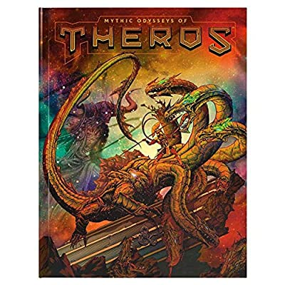 D&D RPG: Mythic Odysseys of Theros Hard Alternate Cover: Toys & Games