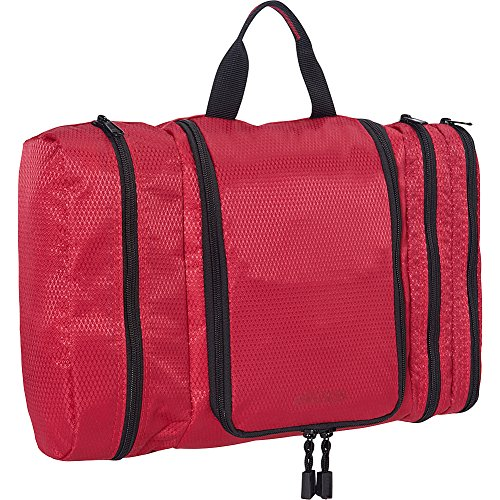 eBags Pack-it-Flat Large Hanging Toiletry Bag and Kit - (Raspberry) ()