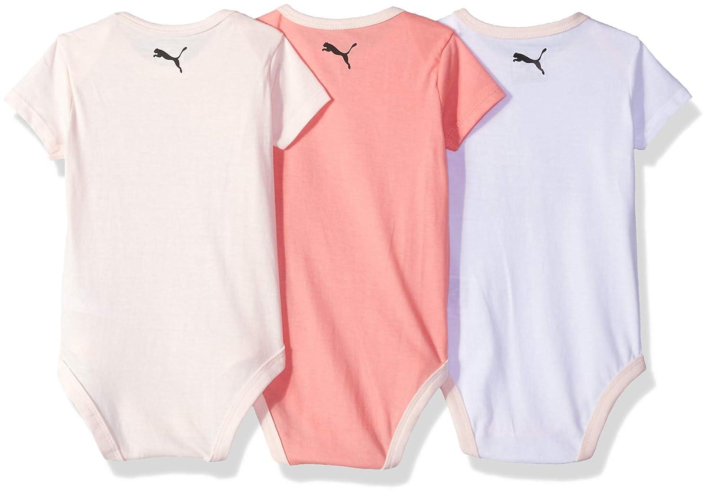 PUMA Baby Girls Five Pack Bodysuit Set 111866188-P662