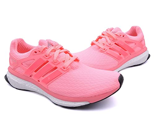a08315b06 adidas Women Running Energy Boost Reveal Shoes Light Flash Red/Core Black/Flash  Red