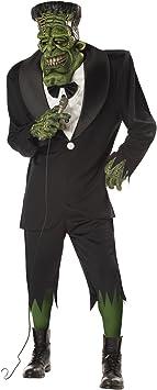 California Costumes 01083 - Disfraz de Gran Frank, Frankenstein ...