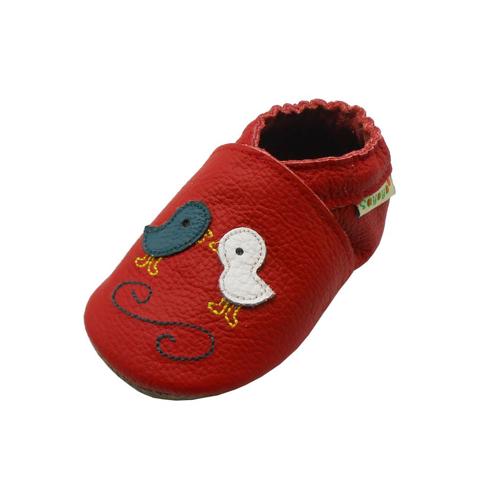 Sayoyo Baby Cute Chick Soft Sole Leather Baby Shoes Baby Moccasins 1052-CA