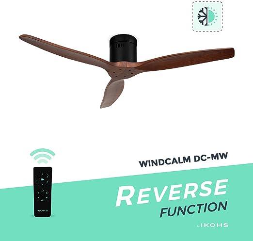 IKOHS WINDCALM DC-MW - Ventilador Techo Función Invierno - Verano ...