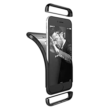finest selection 2d538 f8e1d Yokata iPhone 6S, iPhone 6 (4.7 inch) Silicone Case Full Body 360 Design  Shockproof Bumper Hybrib 3 in 1 Slim Phone Case for iPhone 6S / 6 Soft Gel  ...