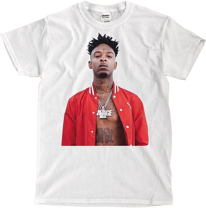 21 Savage White T Shirt S Amazon Com