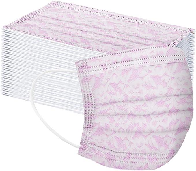 50 Stück Einweg 3 Lagig Mundschutz Damen Herren Tarnung Mundschutz Atmungsaktive Bandana Mund Und Nasenschutz Halstuch Bekleidung