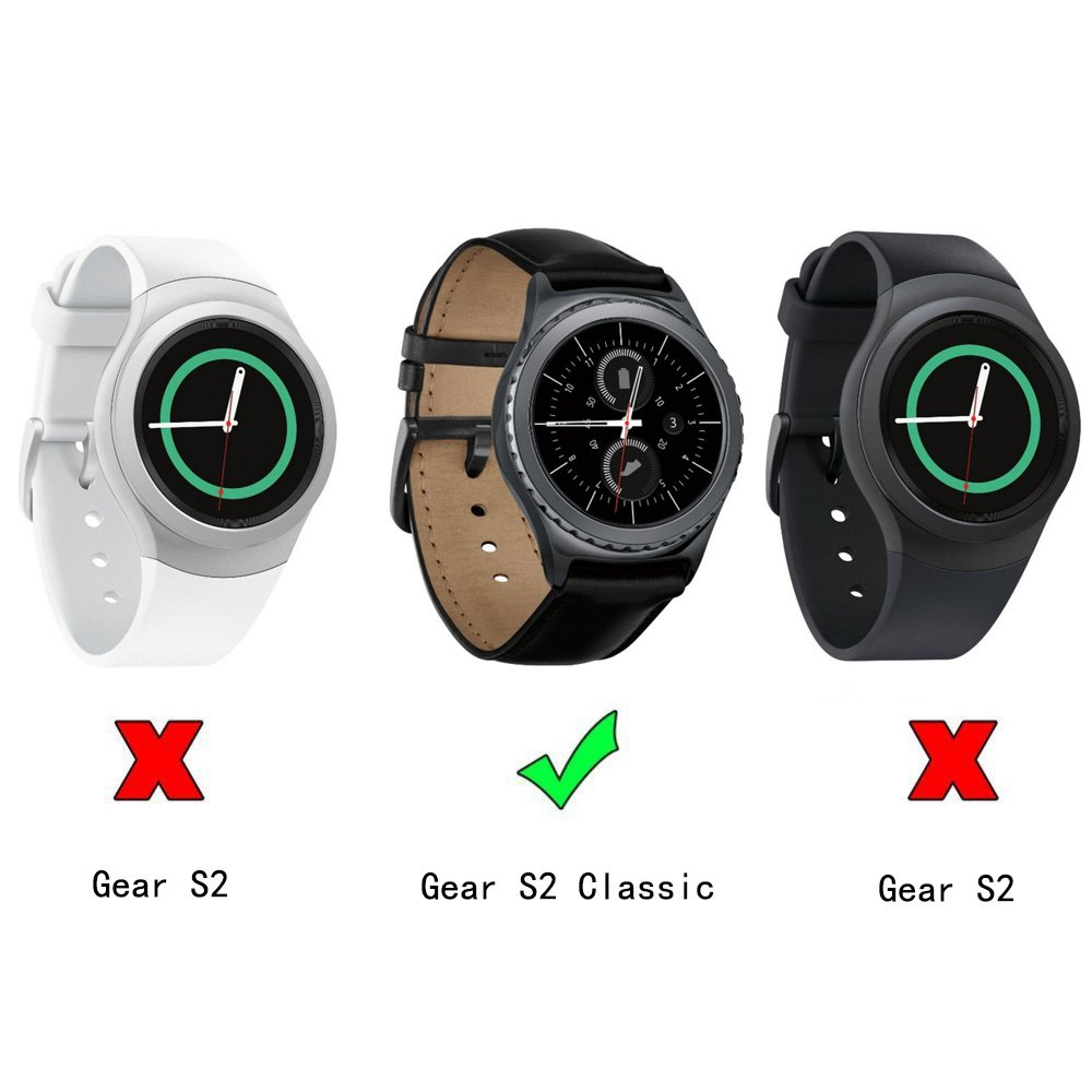 6be9f90eeb6 Amazon.com  Gear S2 Classic R732 R735 Bands
