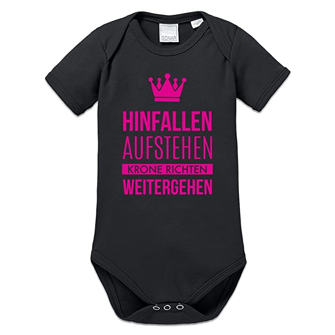 Shirtcity hinfallen levantarse Corona richten Baby Pelele by Camiseta City Negro negro