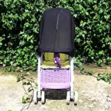 MYJK Baby Pushchairs/Buggy/Stroller Sunshade Windshield Blackout Blind Pushchair Insects Netting
