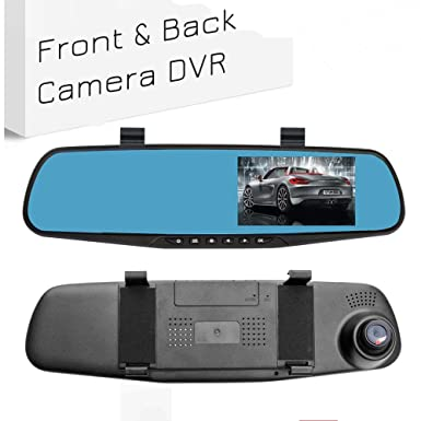 Ezonetronics Car Camera | Car Video Recorder Full Hd 1080 P | Car Video Camera 4.3 Inch Lcd With Dual Lens For Vehicles Front & Rearview Mirror | Dvr Vehicles Dash Cam 2010 by Ezonetronics