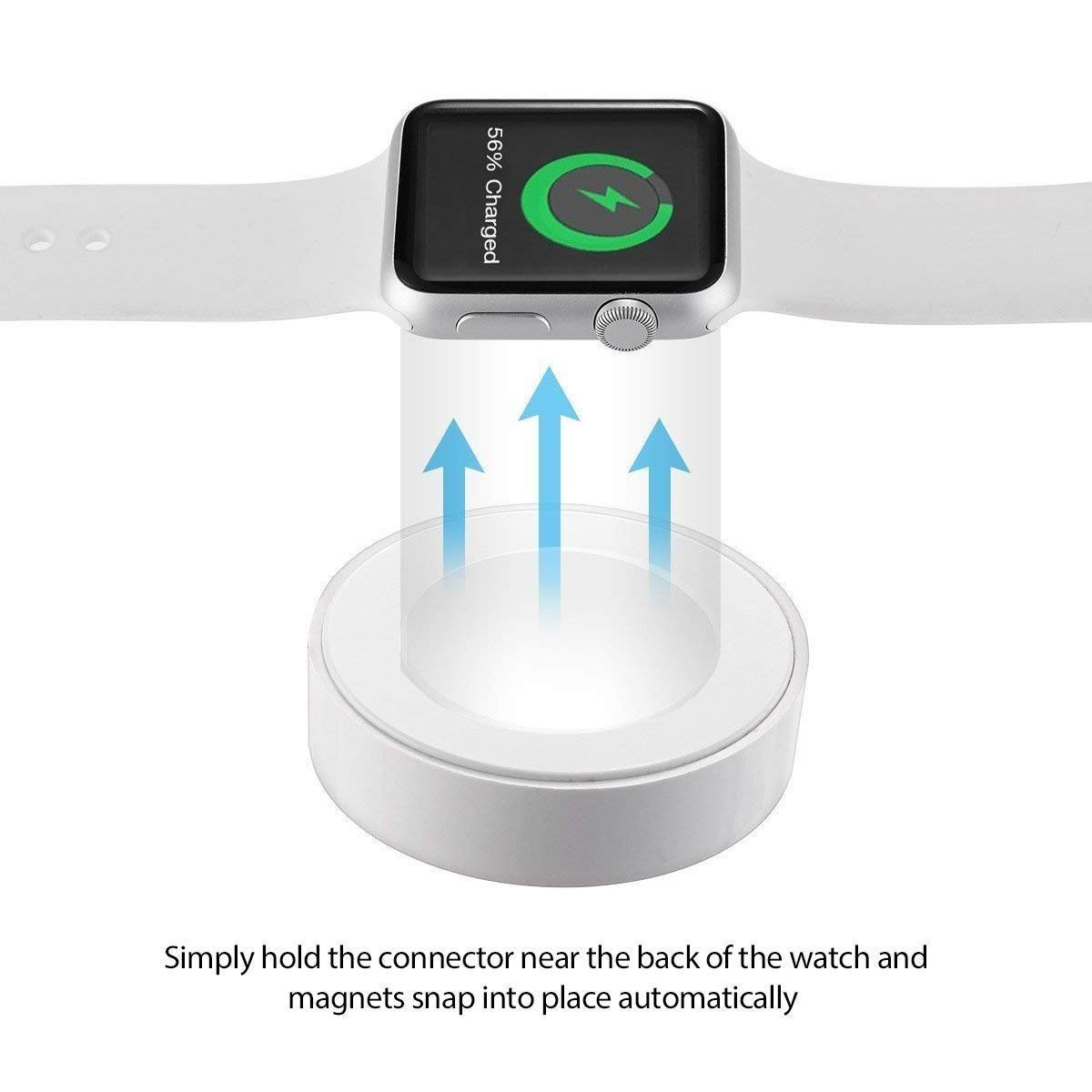 Apple Watch Charger, Charging Cable for Apple Watch/iWatch, Magnetic Wireless Charger USB Charging for Apple Watch Series 2/3/Nike+/Edition by Saleward (Image #4)