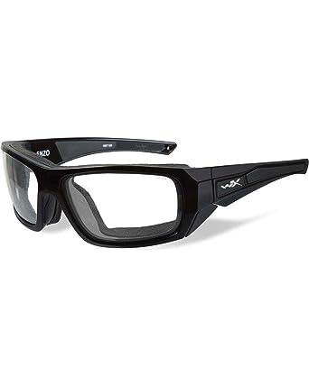 357013d37c Amazon.com  Wiley X Men s Enzo Climate Control Clear Lens Sunglasses ...