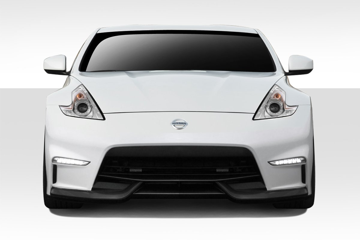 Compatible With 370Z 2009-2018 1 Piece Body Kit Brightt Duraflex ED-HNW-886 N-3 Front Bumper Cover