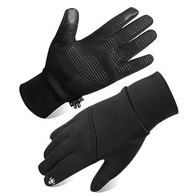 389f842aeab39a Opard Touchscreen Handschuhe Unisex Winter Warme Fleece Innenfutter  Handschuhe Wasserdicht Rutschfestes Abriebfest Arbeit Sport Outdoor Motorrad
