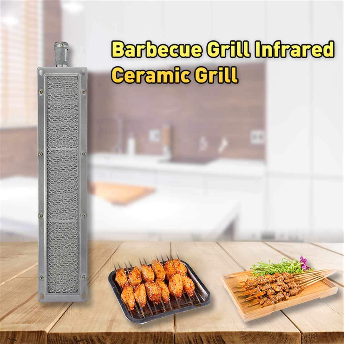BBQ Barbecue Infrared Ceramic Grill Stainless Steel Gas Burner Stove, Infrared BBQ Grills - Infrared Barbecue, Stainless Steel Barbecue Grill, Infrared Grill Burner, Ceramic Burner Grill by BAPES