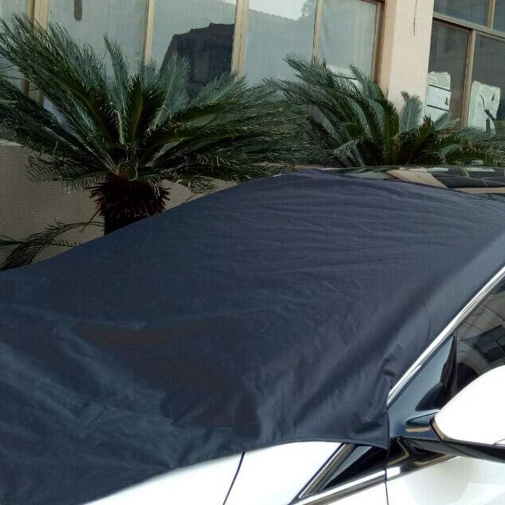 Inicio Protecteur de Pare-Brise Avant de Voiture Magn/étique Imperm/éable /à leau Pare-Brise Pare-Brise Glace Protection Contre Le Givre pour Camion de Voiture SUV 80 * 45.7 Pouces