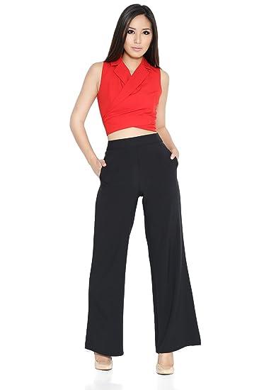 ce15e7426f8f7 Lara  J Women s Leith Tuxedo Top at Amazon Women s Clothing store