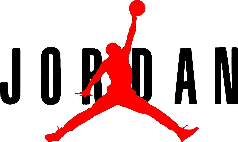 new styles fd055 a3302 AIR Jordan Flight 23 Jumpman Logo NBA Huge Vinyl Decal Sticker for Wall Car  Room Windows (11
