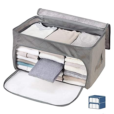 Amazon.com: Janolia - Bolsa de almacenamiento para mantas de ...
