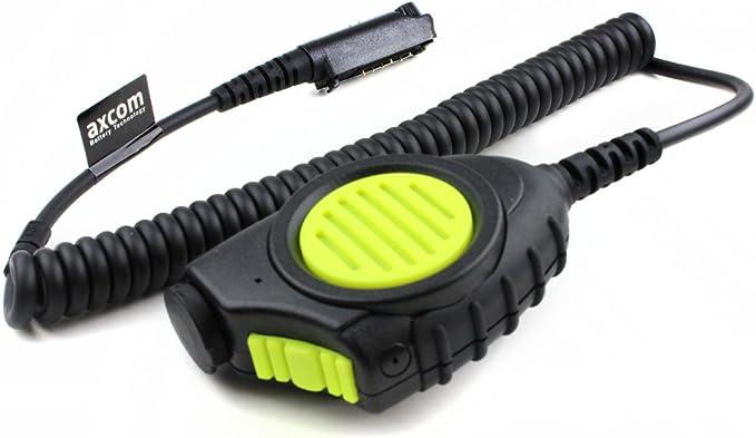 Axcom Handmikrofon Für Sepura Stp8000 9000 Für Raue Und Nasse Umgebung Ip56 Elektronik