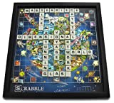 Barker Cabinets Winning Solutions Scrabble 3D World Edition by Charles Fazzino